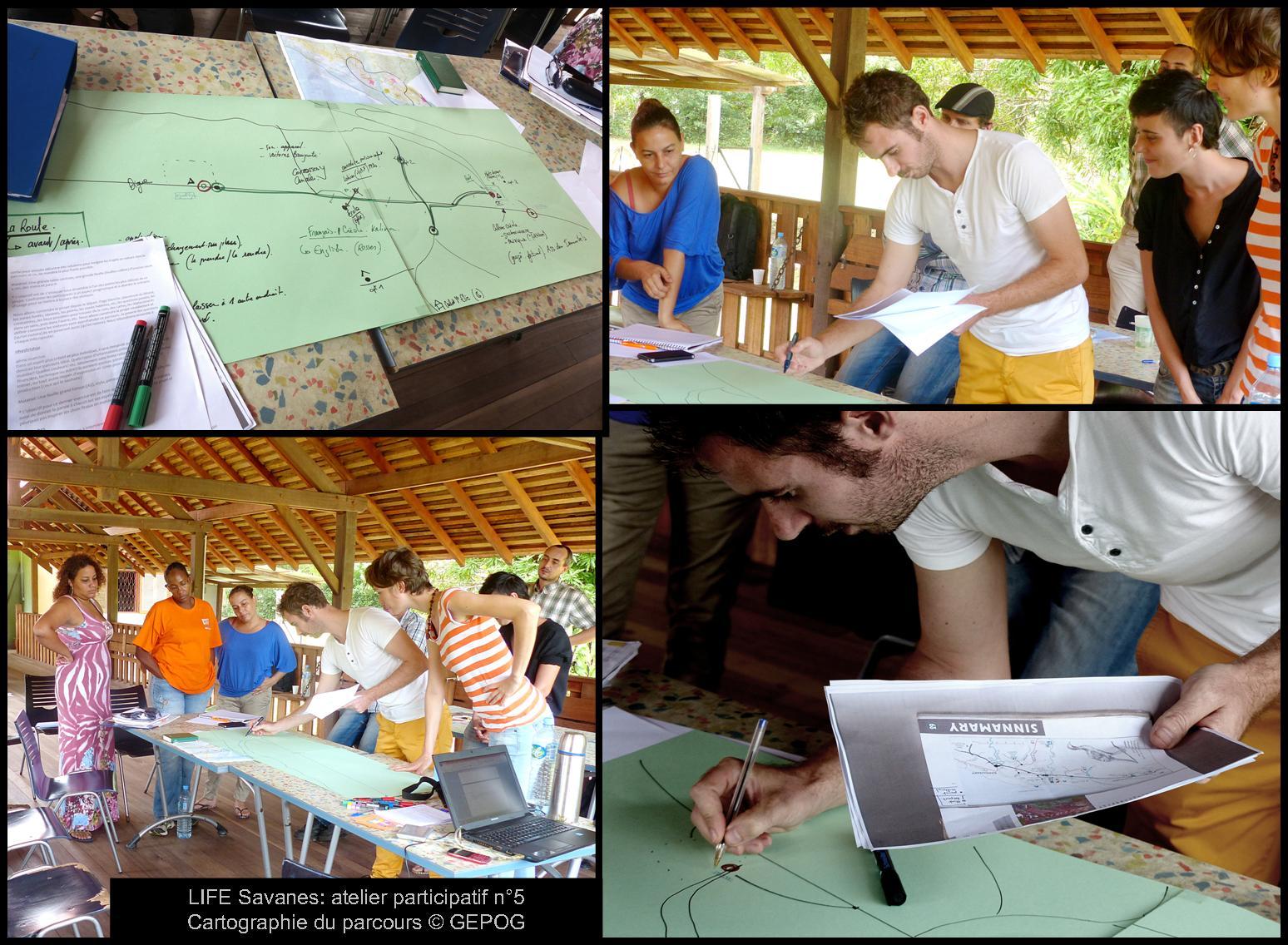 cinquieme atelier participatif a la maison de la nature de sinnamary © GEPOG